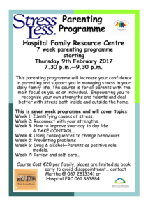 stressless parenting classes